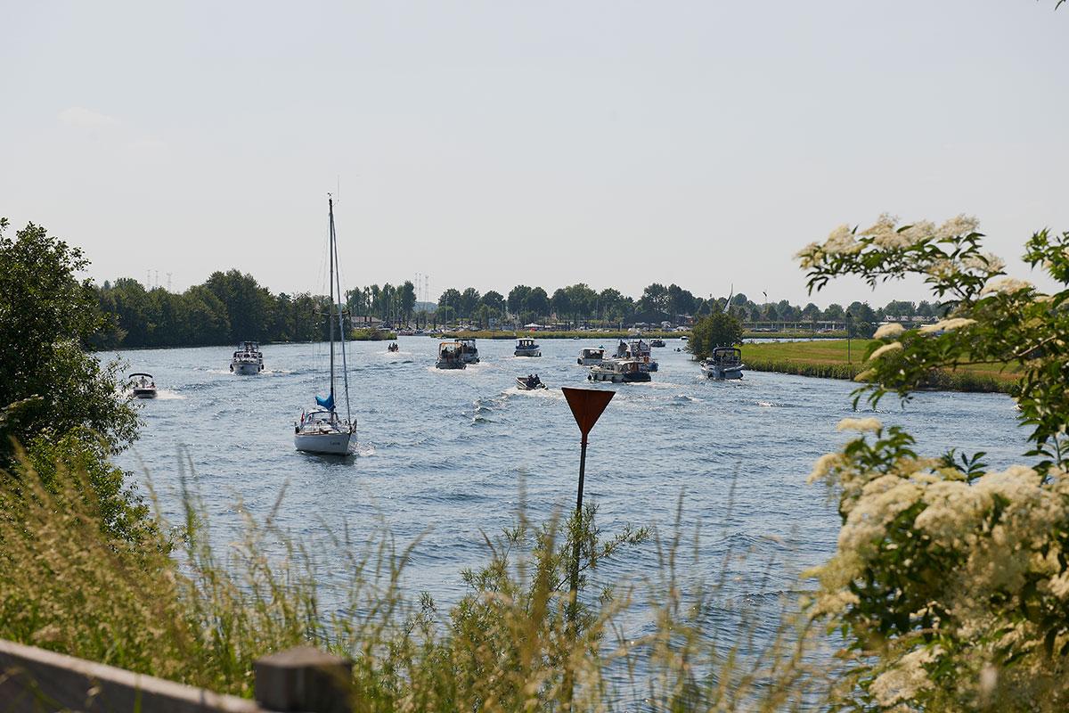 Watersport maasplassen