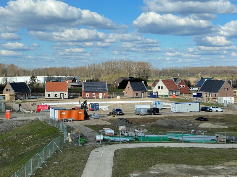 Voortgang bouw fase 1 maart - 9
