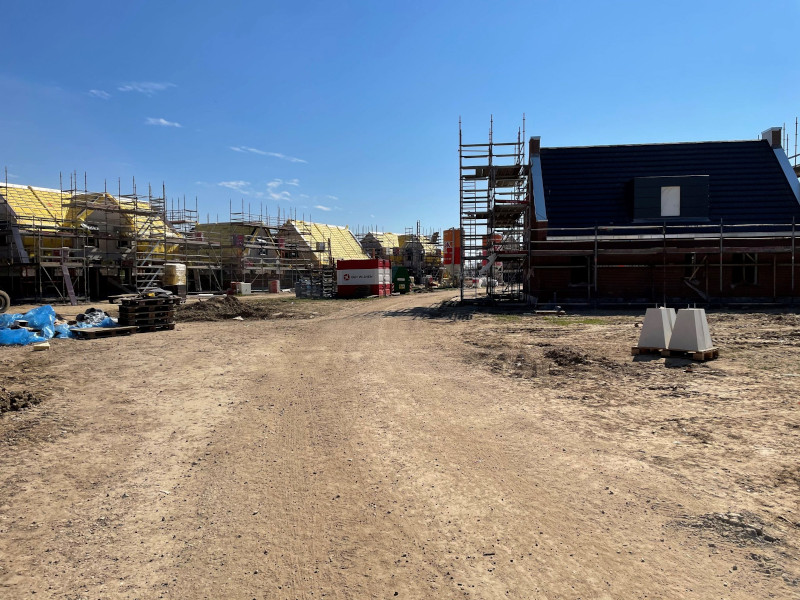 Voortgang bouw april - 13