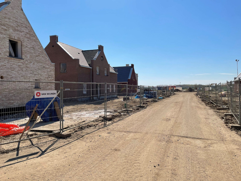 Voortgang bouw april - 17