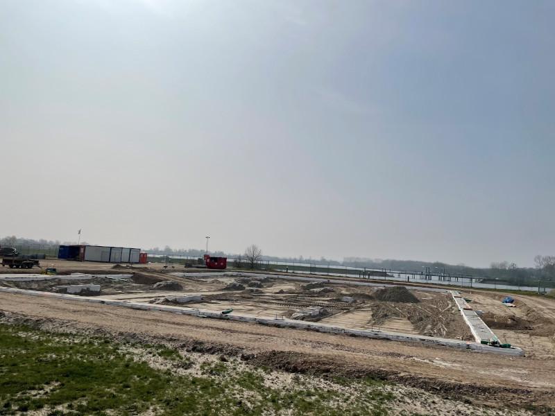 Voortgang bouw april - 8