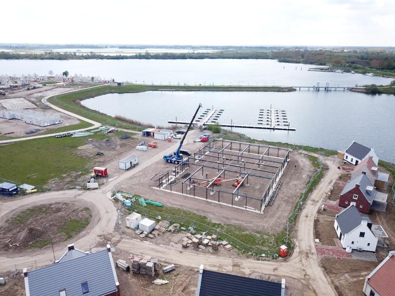 Voortgang bouw Maasresidence Thorn april 2021 - 1