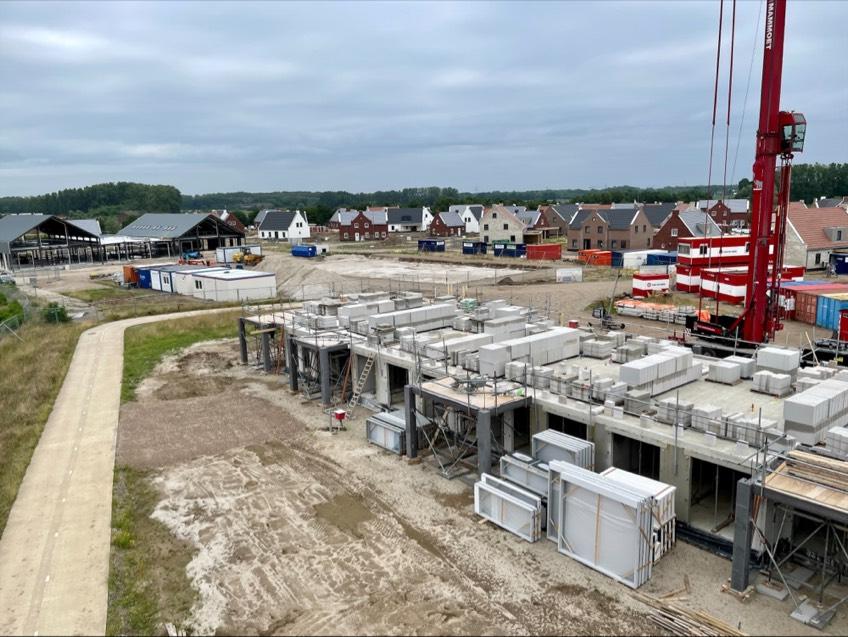 Voortgang bouw Maasresidence Thorn juli 2021 - 10