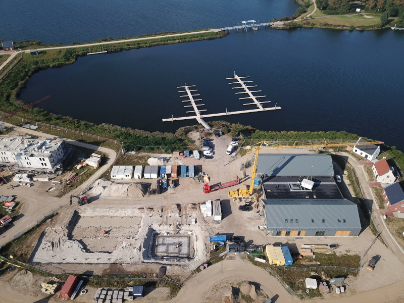 Voortgang bouw Maasresidence Thorn september 2021 - 1
