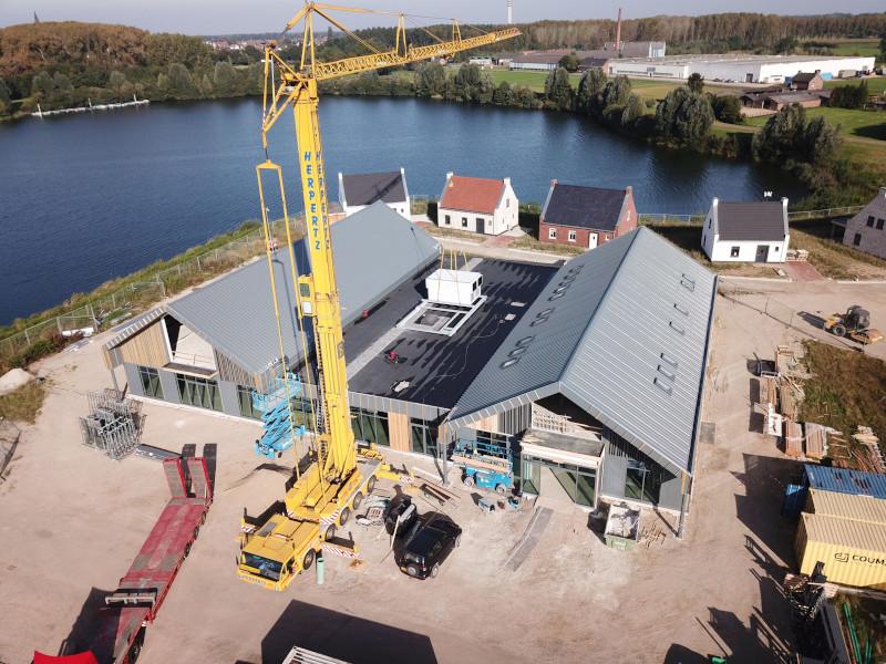 Voortgang bouw Maasresidence Thorn september 2021 - 2