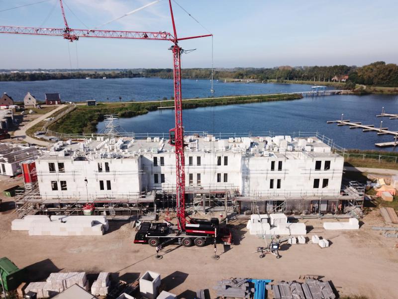 Voortgang bouw Maasresidence Thorn september 2021 - 8